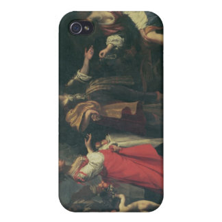 Angelica and the Moor, Medoro, 1634 (oil on canvas iPhone 4 Cover