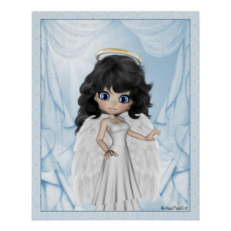 Angelica Angel Dreams Print Poster