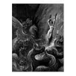 Angélica del rescate de Ruggiero de Gustave Doré Postal
