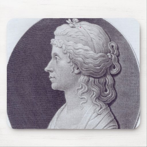 Angelica Kauffman, engraved by J.F Bause Mouse Pad
