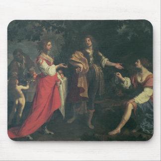 Angélica y el amarrar, Medoro, 1634 (aceite en lon Mousepads