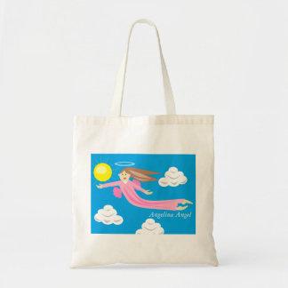 Angelina Angel Tote Bag