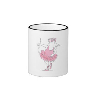 Angelina Ballerina Ringer Mug