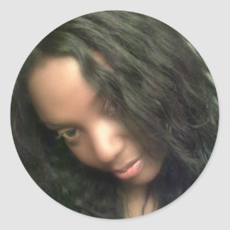 Angelina FANS Round Sticker