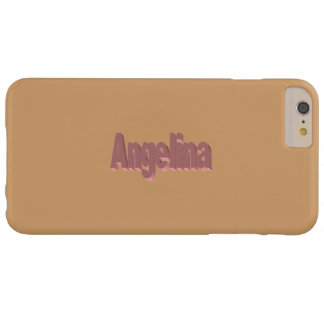 Angelina Full Brown iPhone 6 Plus case
