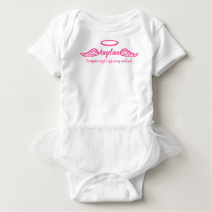 Name angelina baby gifts on zazzle angelina girls name meaning angel wings pink baby bodysuit negle Choice Image
