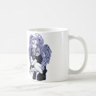 Angelina Gothic Violet Angel Mug