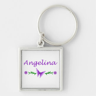 Angelina (Purple Butterfly) Keychain