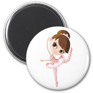 Angelina the Ballerina 2 Inch Round Magnet