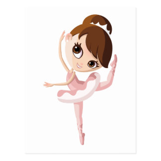 Angelina the Ballerina Postcard