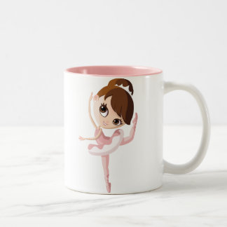 Angelina the Ballerina Two-Tone Coffee Mug