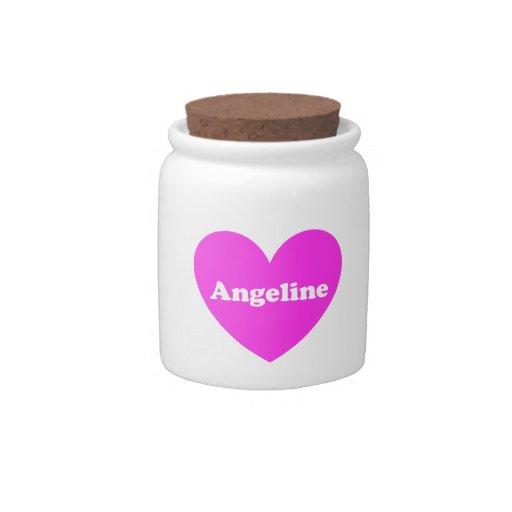 Angeline Jarra Para Caramelo