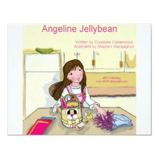 Angeline Jellybean getting ready for Easter Card