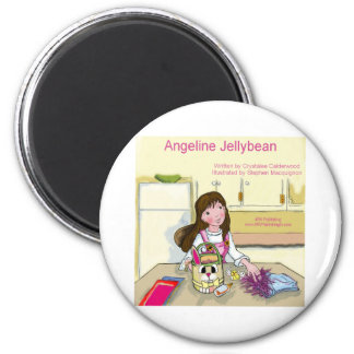 Angeline Jellybean getting ready for Easter Magnet