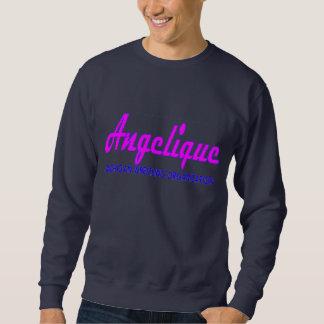 Angelique Cursive Logo Sweatshirt