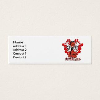 Angelique Mini Business Card