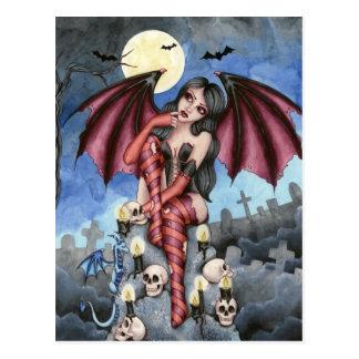 Angelique - postal de la hada del vampiro