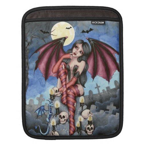Angelique - Vampire Fairy - iPad Sleeve