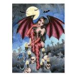 Angelique - Vampire Fairy Postcard