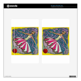 Angelique's Tea Party in June Kindle Fire Skins