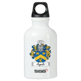 Angelis Family Crest Aluminum Water Bottle