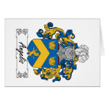 Angelis Family Crest Greeting Cards