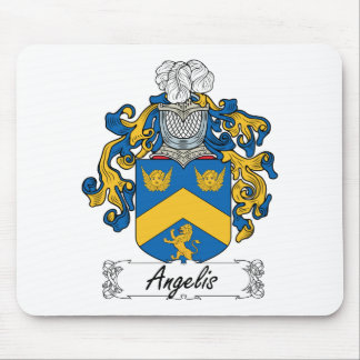 Angelis Family Crest Mouse Pad