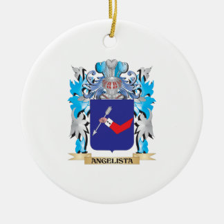 Angelista Coat Of Arms Christmas Tree Ornaments