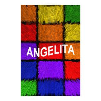 ANGELITA ( female names ) Stationery