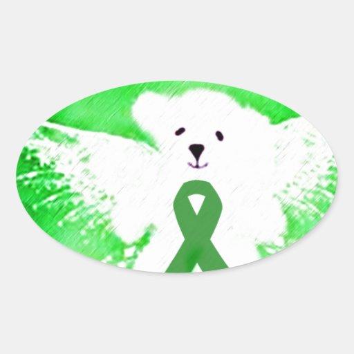 AngelLove_ Oval Sticker
