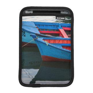 Angelmo harbor, fishing boats. iPad mini sleeve