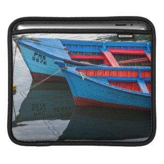 Angelmo harbor, fishing boats. sleeve for iPads