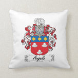 Angelo Family Crest Pillows