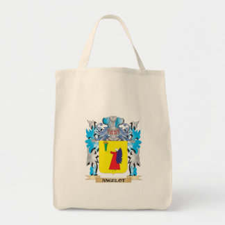 Angelot Coat Of Arms Canvas Bags