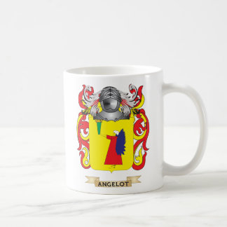 Angelot Coat of Arms (Family Crest) Mugs