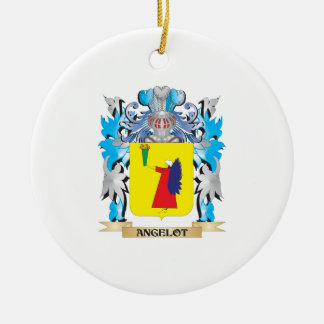 Angelot Coat Of Arms Christmas Ornament