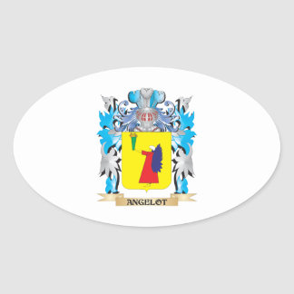 Angelot Coat Of Arms Stickers