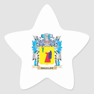 Angelot Coat Of Arms Star Stickers