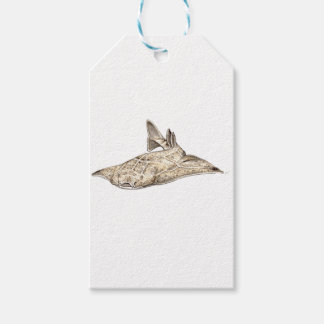 Angelote, shark angel gift tags