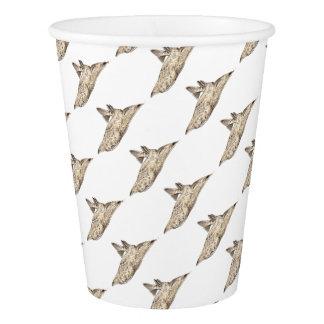 Angelote, shark angel paper cup