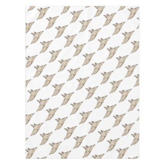 Angelote, shark angel tablecloth
