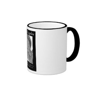 Angelou Quote gear Ringer Mug