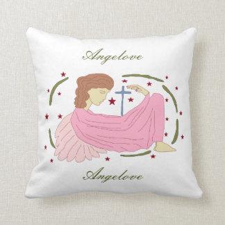 angelove throw pillow