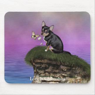 AngelPearlGirl Chihuahua 3A Mouse Pad