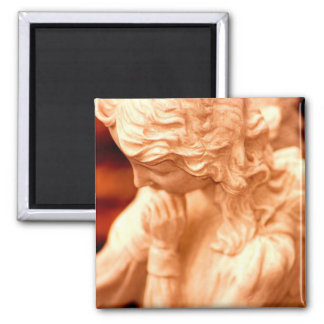 AngelRed 2 Inch Square Magnet
