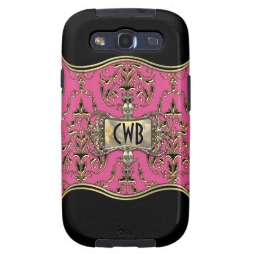 AngelRhyse Lark  Monogram Elegance Galaxy S3 Case