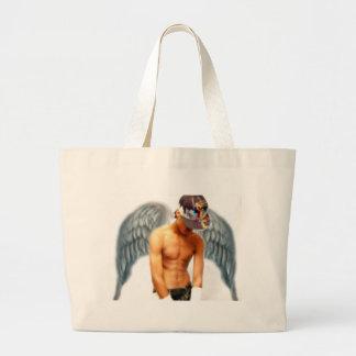 Angels Among Us 2 Large Tote Bag