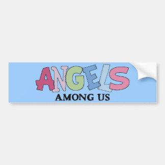 Angels Among Us Car Bumper Sticker