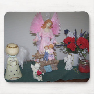 Angels Among Us Mouse Pad