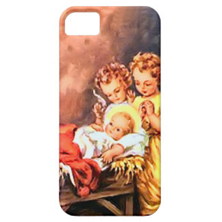 Angels and baby Jesus iPhone 5 Cover
